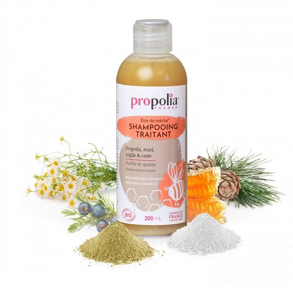 BeeYes Propolia szampon propolisowy BIO