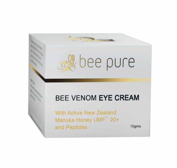 Krem pod oczy z jadem pszczelim i miodem Manuka - Bee Pure karton
