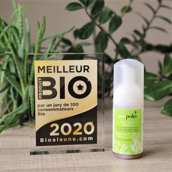 BeeYes Propolia pianka do mycia twarzy BIO 2020