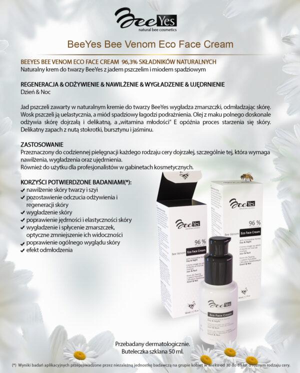BeeYes Bee Venom Eco Face Cream