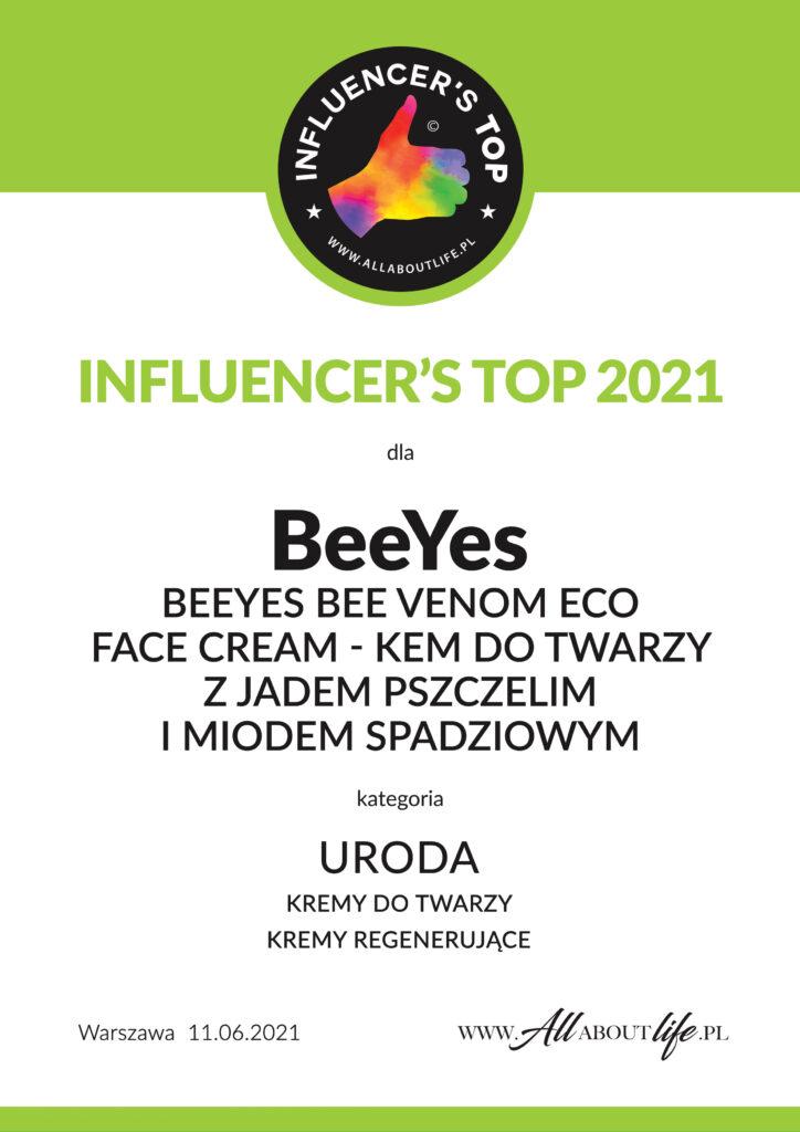 URODA-BeeYes certyfikact