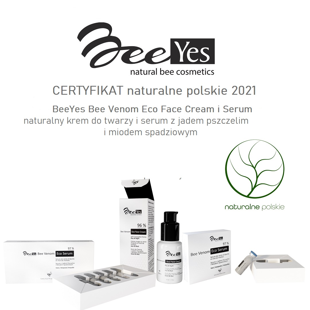 BeeYes Laureat naturalne polskie 2021